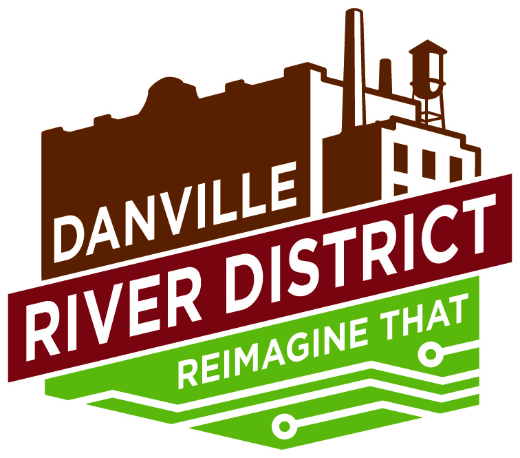 Danville River District Reimagine That logo