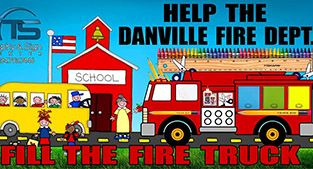 Fill the fire truck poster