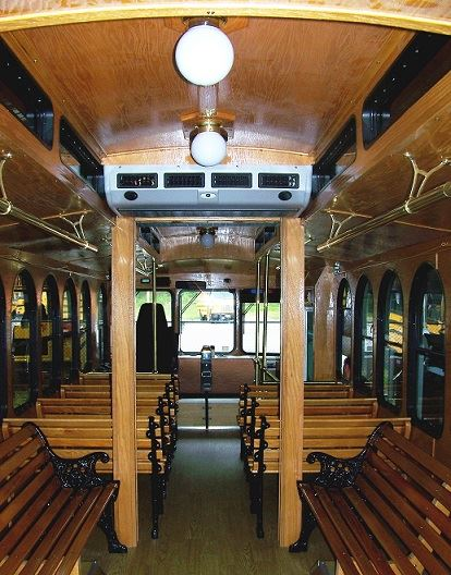 Interior of Trolley