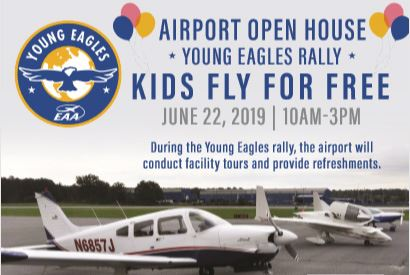 Flyer for Airport Open House